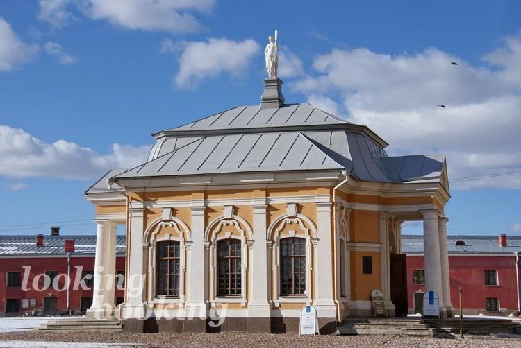Ботный домик Петропавловская крепость Петербург