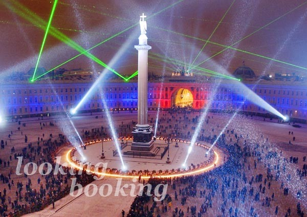 Дворцовая площадь праздник СПБ
