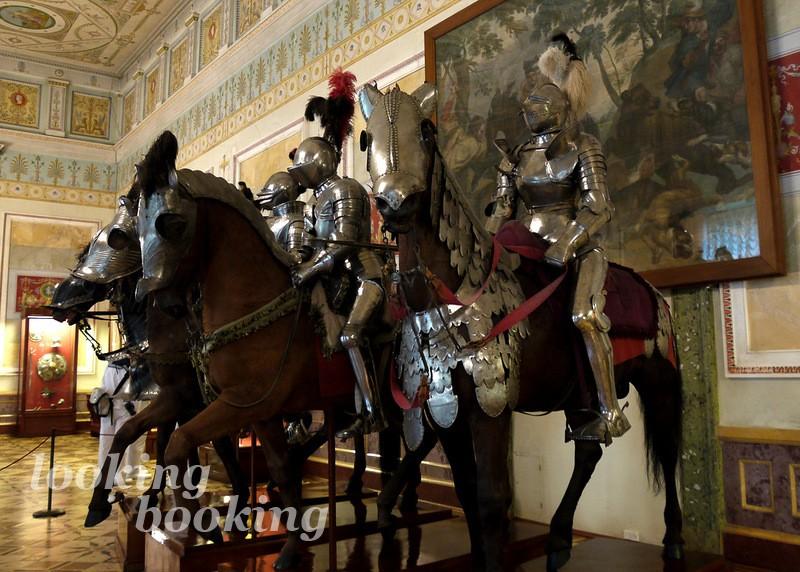 Рыцарский зал эрмитаж