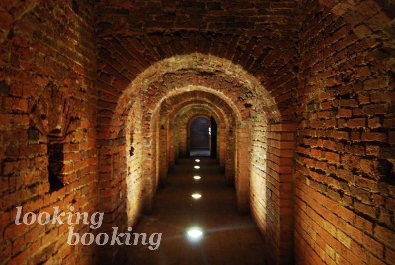 Подземные ходы в Петропавловской крепости