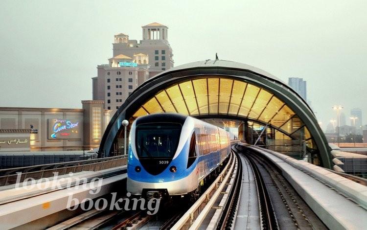 Поезда в Дубае