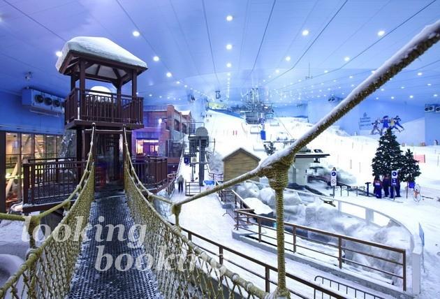 Скай Дубай Горнолыжный центр Ski Dubai