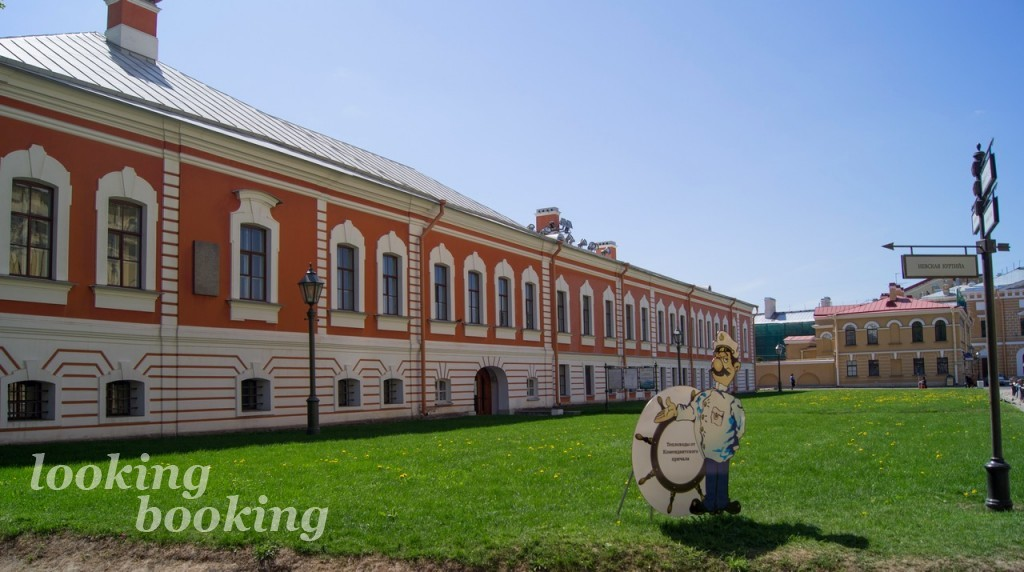 Комендантский дом в Петропавловской крепости Петербург