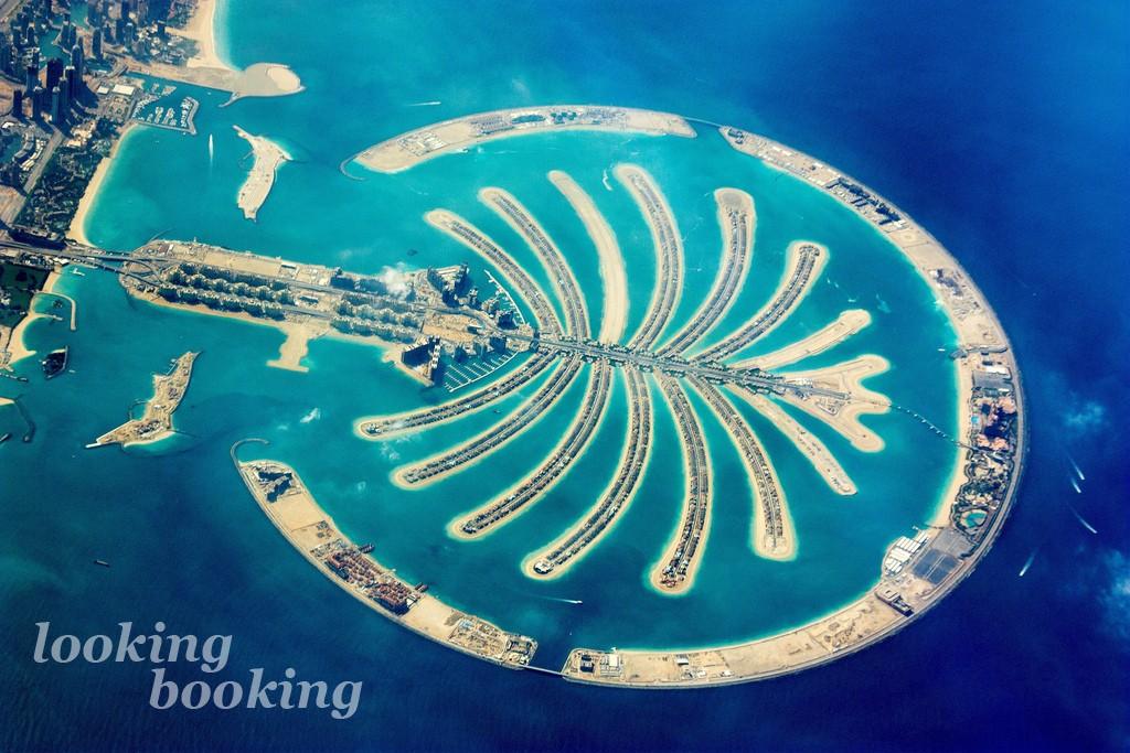 Дубай остров пальма
