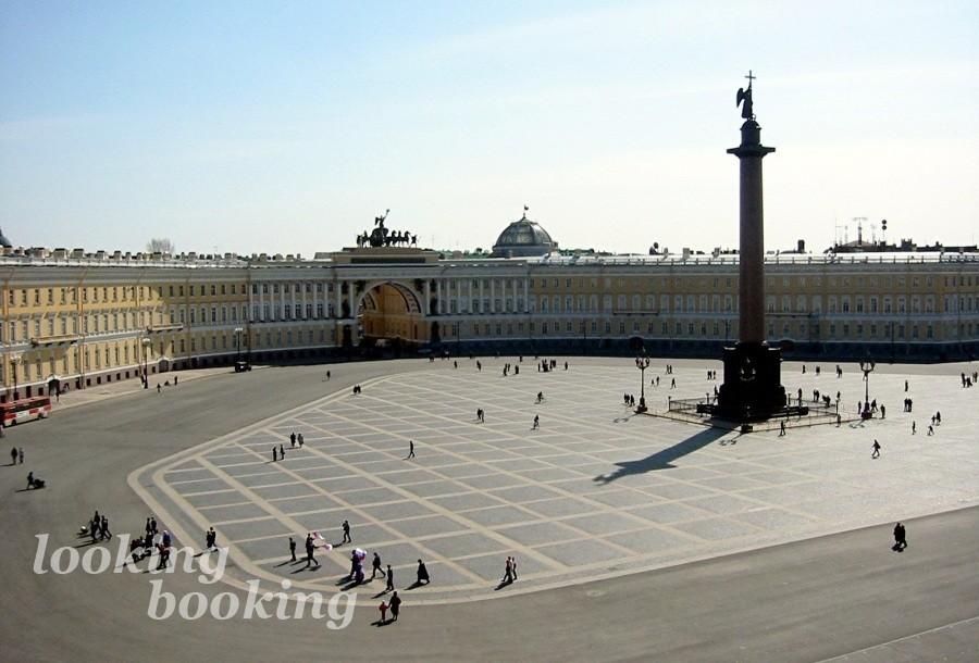 Дворцовая площадь, эрмитаж Санкт - Петербург