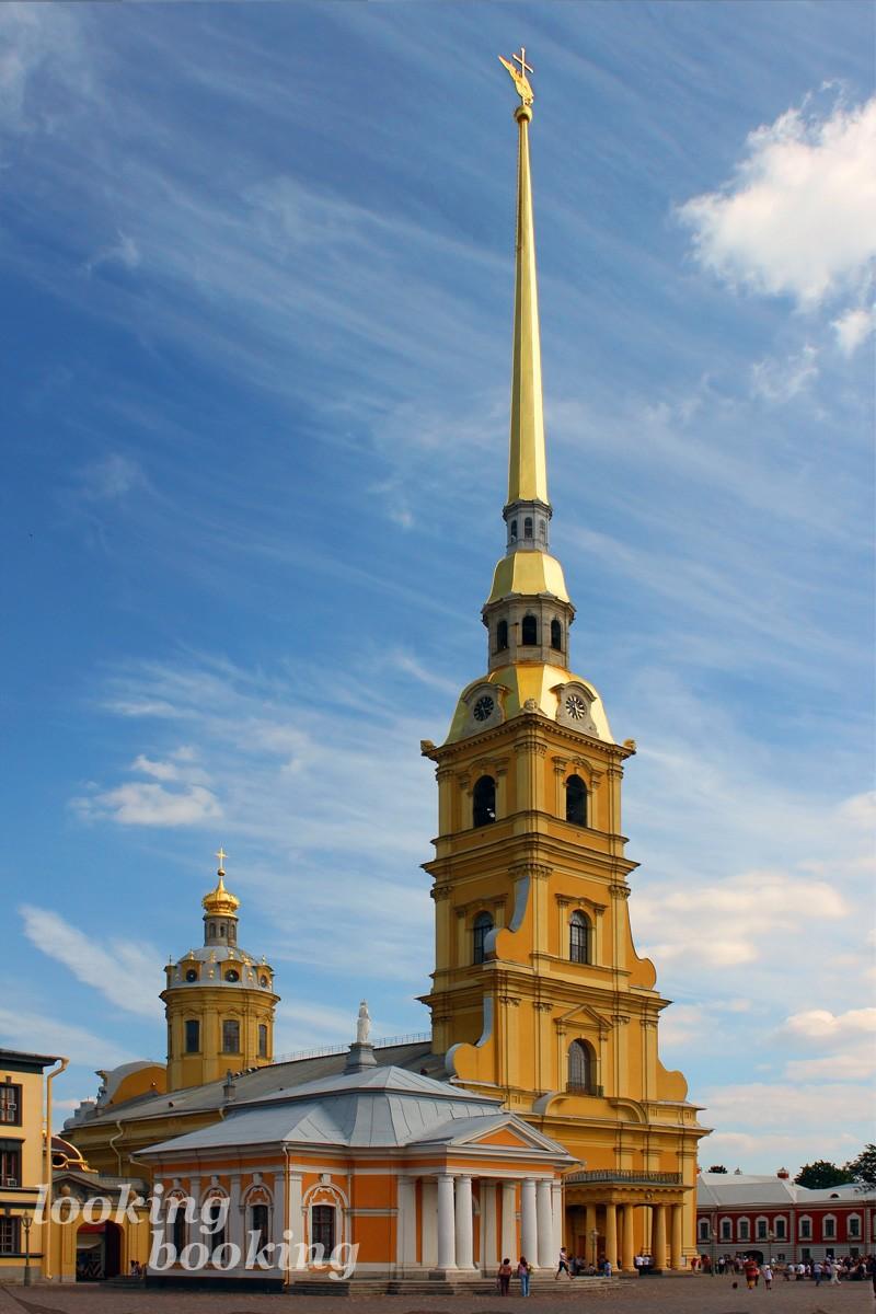 Собор Петра и Павла Петропавловская крепость питер
